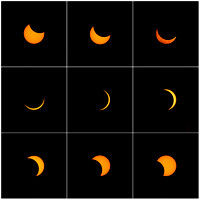 Solar Eclipse 2017 - Collage