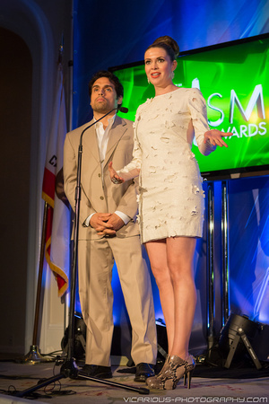 Danny Arroyo & Carly Steel - PRISM Awards 2013 - 1
