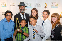 2014 SET Awards- Isaiah Washington & Students