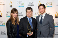 2014 SET Awards- Katja Herbers, Larry Mirisch, & Ashley Zukerman