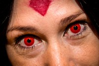 2014 Phoenix Comicon Decorative Contacts (close)-2