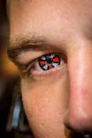 2014 Phoenix Comicon Decorative Contacts (close)-9